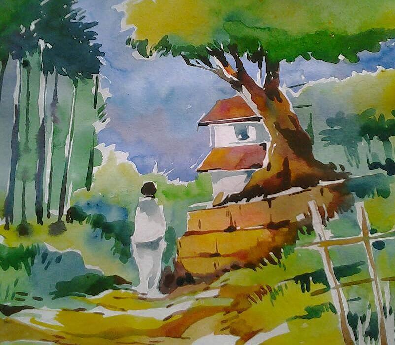 Làng Kerala.